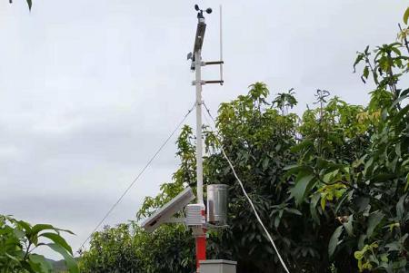 广西建多功能自动气象站为火龙果生长提供服务