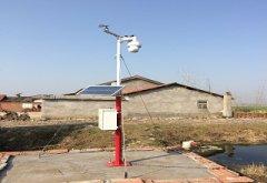 多功能自动气象站在许昌农业气象