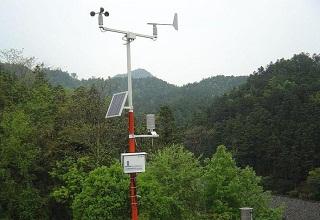 多功能自动气象站监测农业气象数据