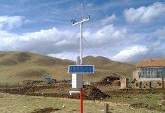 南阳利用多功能自动气象站为粮食生产助力